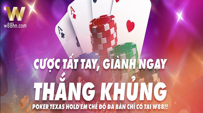 Ky hieu bai trong Poker W88 hinh anh 2