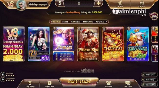 Huong dan cach tai game doi thuong V8 Club don gian qua 3 buoc