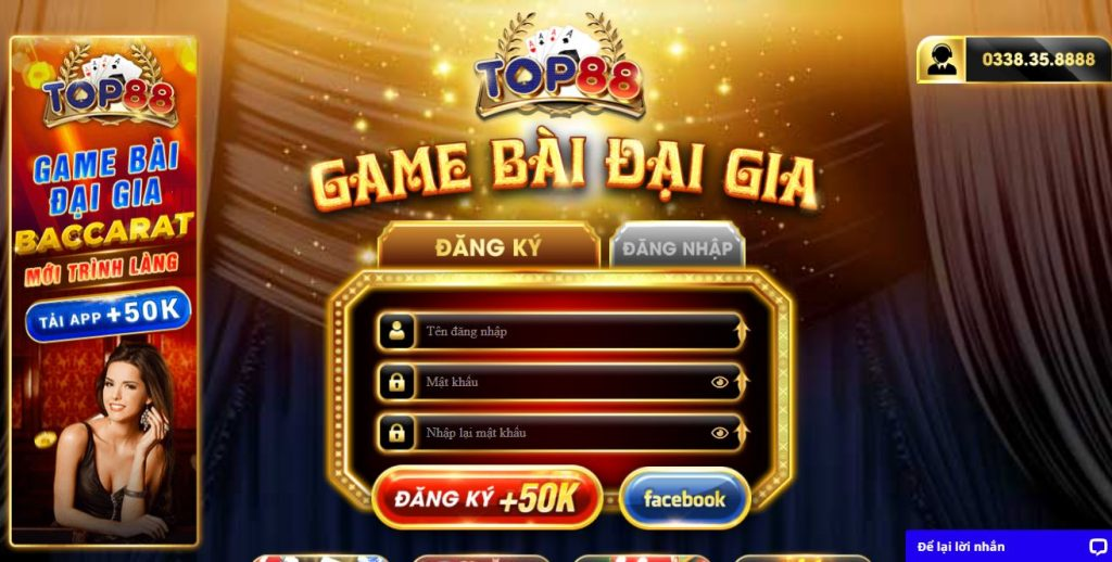 Huong dan cach choi game bai Top88 chi tiet