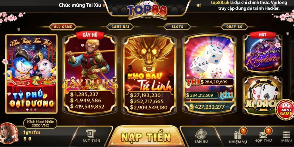 Cach tai game cach choi Top88