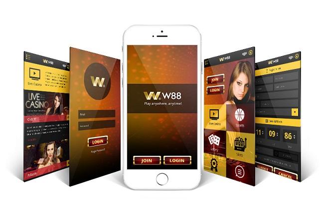 Huong dan chi tiet cach tai app W88 tren di dong